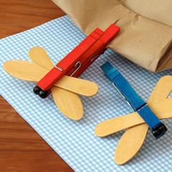 幼儿园蜻蜓手工制作 简单蜻蜓的制作方法