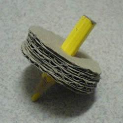 自制陀螺的做法图解 硬纸板制作陀螺的教程