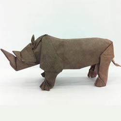 马伯纳犀牛折纸教程 马伯纳犀牛的折法图解