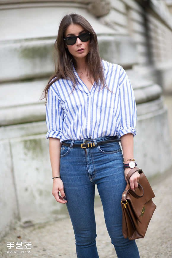 復古與時尚的完美配搭 高腰牛仔褲的穿搭準則