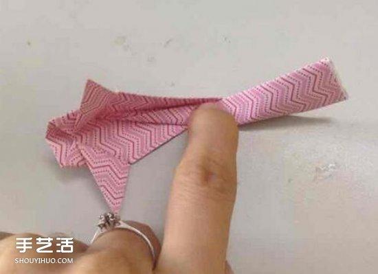手工立体金鱼折纸图解