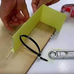 简易捕鼠器制作方法图解 自制捕捉老鼠的陷阱
