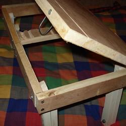 自制床上电脑桌的方法 DIY可折叠床上电脑桌