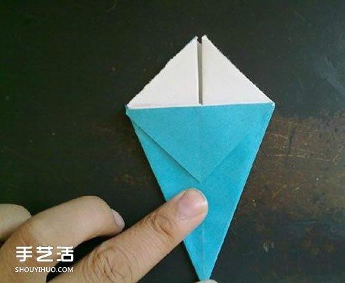 折纸康乃馨步骤图解 康乃馨的折法简单易学