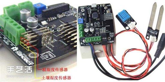 自动浇花系统原理图 自动浇花器原理小发明 -  www.shouyihuo.com