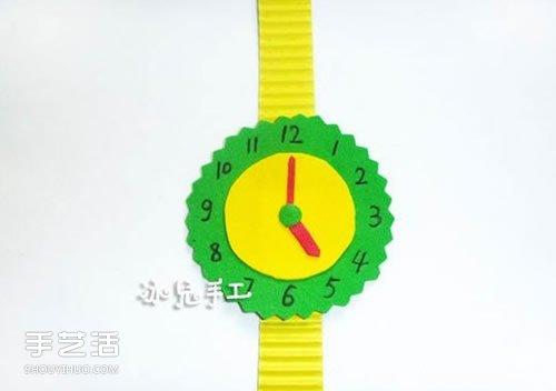 简单手表玩具手工制作 儿童玩具手表怎么做