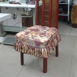 家用椅子套的做法图解 手工餐椅套怎么做教程