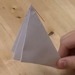纸炮怎么叠图解教程 两种纸炮的折法步骤