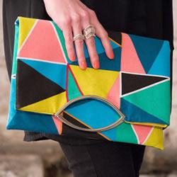 手拿口金包制作教程 时尚口金包的做法图解