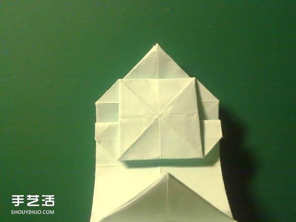 折纸初音未来的详细图解