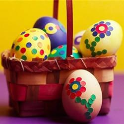 复活节彩蛋制作过程 幼儿手工制作复活节彩蛋