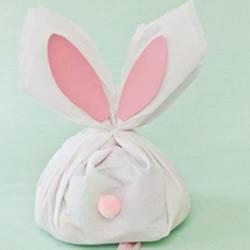 可以拉出彩蛋的复活节兔子手工制作教程