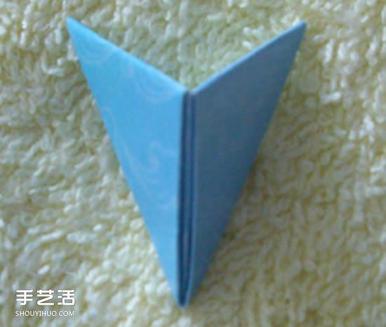 三角插笔筒步骤图解 三角插菠萝笔筒的具体插法