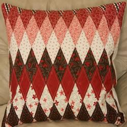 地中海风格靠枕DIY教程 手工布艺制作条纹靠枕