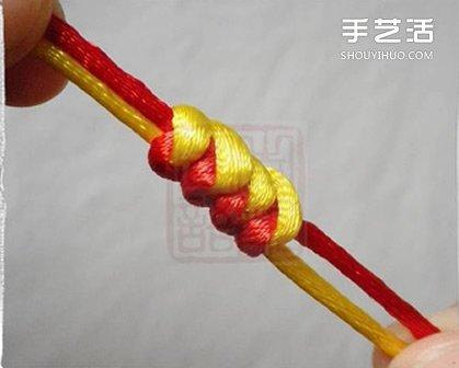 金刚结手链编法图解 金刚结编手链的步骤简单