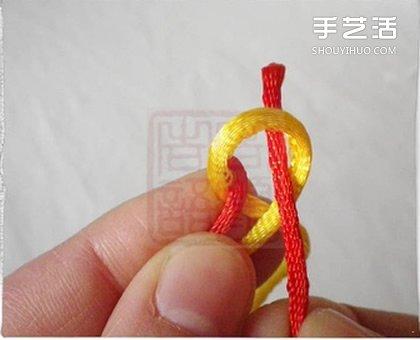 金刚结手链编法图解 金刚结编手链的步骤简单 -  www.shouyihuo.com