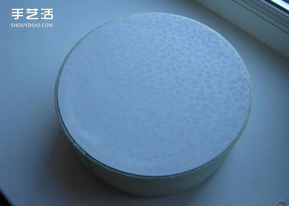 怎么做圆形布盒子教程 圆形布艺收纳盒DIY图解 -  www.shouyihuo.com