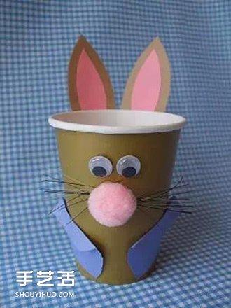 手工制作小动物_纸杯小动物手工制作 纸杯手工制作大全动物