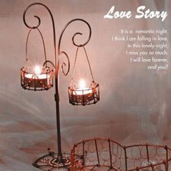 自制烛台架的方法步骤 情人节装饰烛台架DIY