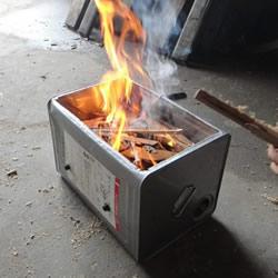 如何自制烧烤炉图解 简易木炭烧烤炉制作方法