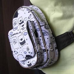 胸前包手工制作教程 自制实用布包的方法