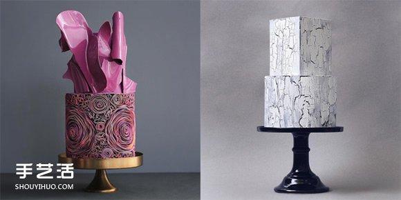 好吃又好看:融合建筑与艺术的造型蛋糕 -  www.shouyihuo.com