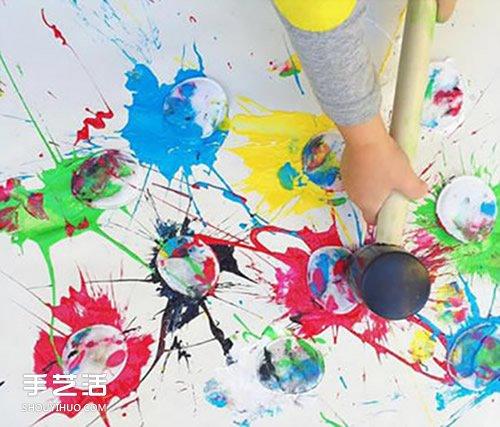 趣味亲子手工制作图片 幼儿亲子小制作创意 - www.shouyihuo.com