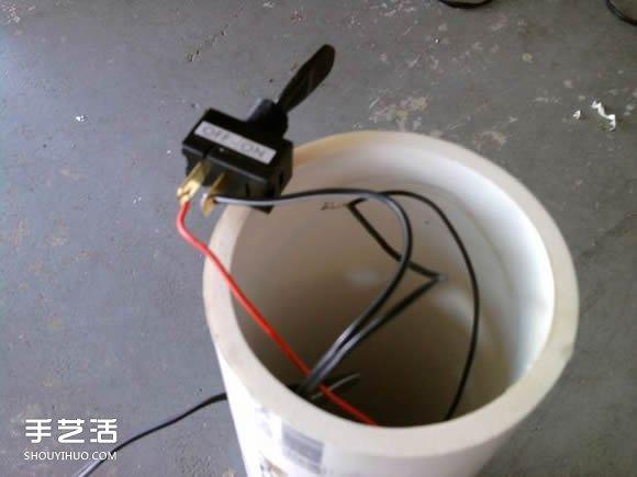 DIY自制空气净化器教程 简易空气净化器制作方法 -  www.shouyihuo.com