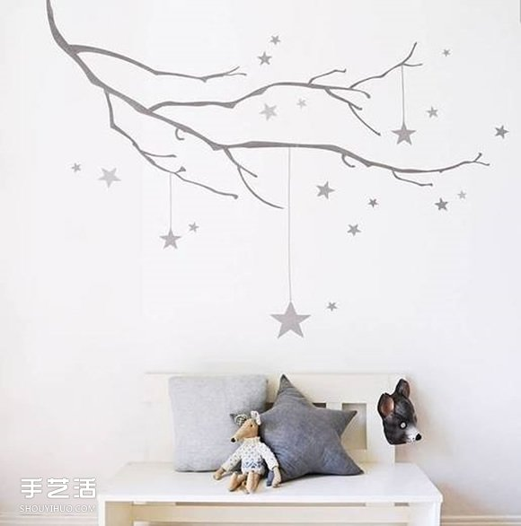 幼儿墙饰手工制作创意 好看墙面布置设计图片