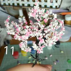 最美铁丝树的制作方法 把春天永远留在身边!
