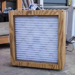 自制空气过滤器的方法 DIY简易空气过滤器教程