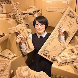起始于课业练习!Ohno的超精致纸箱模型作品