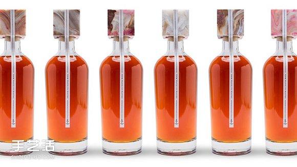 来自大海的环保酒瓶 让垃圾干净回归消费者手上 -  www.shouyihuo.com