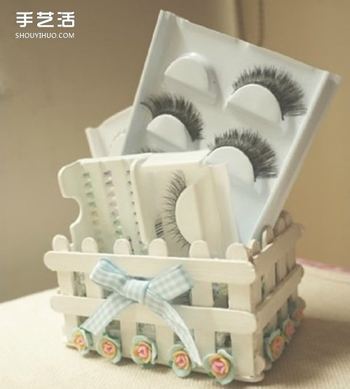 雪糕棍的创意图片大全 冰棍棒手工制作图片 -  www.shouyihuo.com