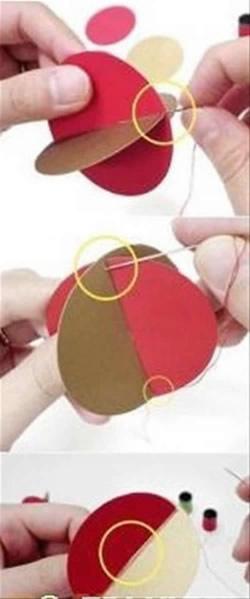 如何制作简单卡纸风铃 纸风铃制作方法及图解 -  www.shouyihuo.com
