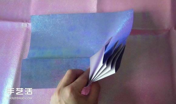 折纸钱包多层简单图解 详细钱包的折法图解