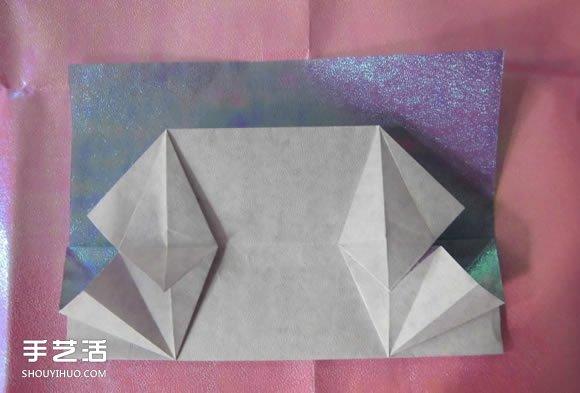折纸钱包多层简单图解 详细钱包的折法图解(2)