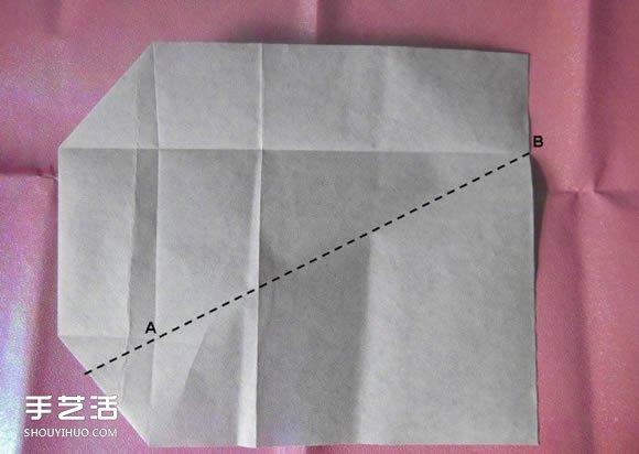 折纸钱包多层简单图解 详细钱包的折法图解(3)