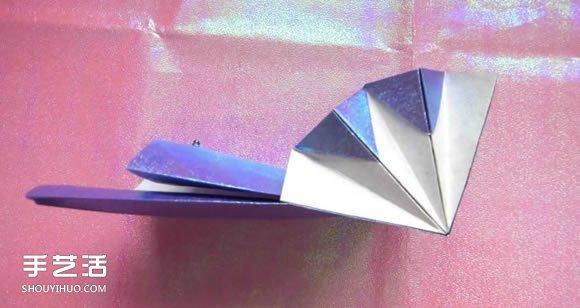 折纸钱包多层简单图解 详细钱包的折法图解(4)