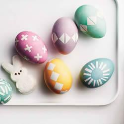 手工彩蛋制作方法教程 幼儿园简单彩蛋DIY绘画