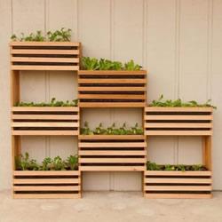 木头花架的制作方法 自制多层花架的图解教程