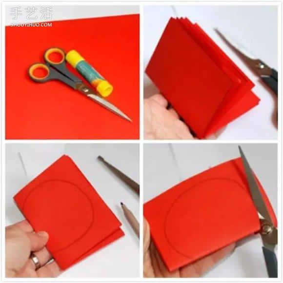 幼儿卡纸水果手工制作 立体水果挂饰diy方法