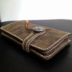 简易长款钱包制作教程 自制长钱包的详细图解