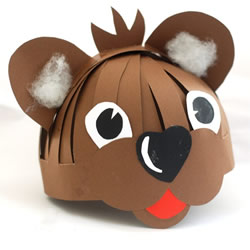 怎样制作小动物头饰 幼儿园动物头饰制作方法