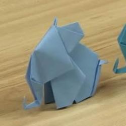 立体大象怎么折图解 折纸大象的步骤图解
