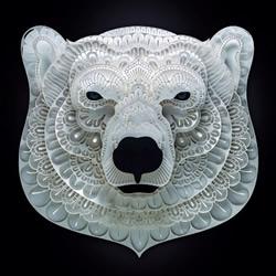 为脆弱野生动物募款 马尼拉艺术家的动物纸雕