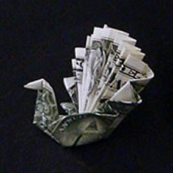 感恩节火鸡的折法图解 折纸火鸡的方法步骤