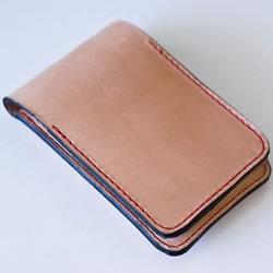 带卡包功能手机套DIY 自制皮革卡包手机套教程