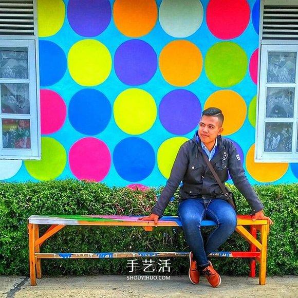 """老旧小镇别急着拆 印尼""""彩虹村""""成新兴景点 -  www.shouyihuo.com"""