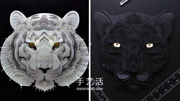 为脆弱野生动物募款 马尼拉艺术家的动物纸雕 -  www.shouyihuo.com